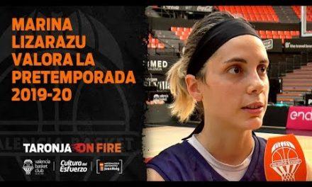 Marina Lizarazu valora la pretemporada