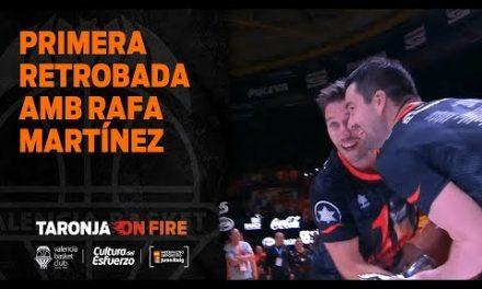 Primer reencuentro con Rafa Martínez