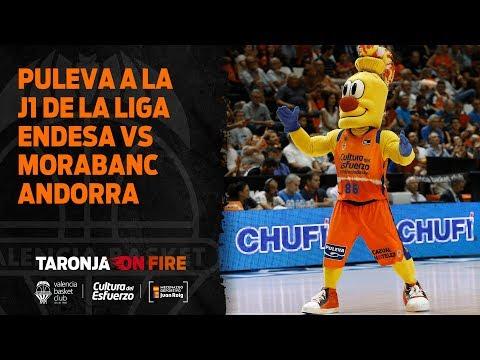 Puleva a la J1 de la Liga Endesa vs Morabanc Andorra