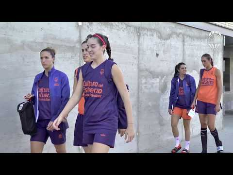 Entrenamiento pre J1 Liga Femenina vs Spar Citylift Girona
