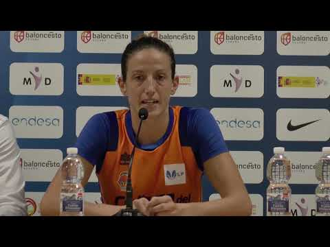María Pina post J1 Liga Femenina vs Spar Citylift Girona