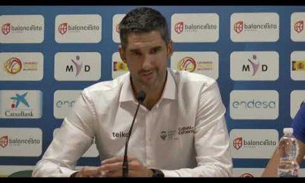Rubén Burgos post J1 Liga Femenina vs Spar Citylift Girona