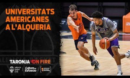 Las universidades americanas se preparan en L'Alqueria del Basket