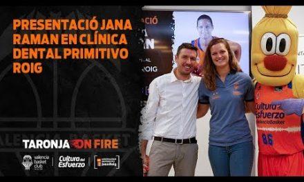 Presentación Jana Raman en Clínica Dental Primitivo Roig