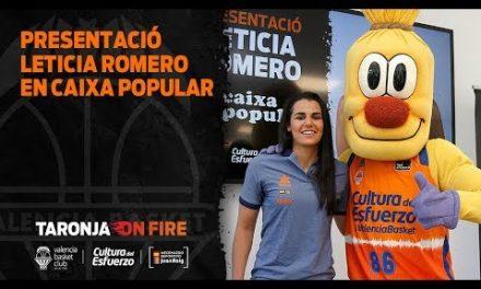 Presentación Leticia Romero en Caixa Popular