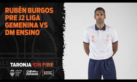Rubén Burgos Pre J2 vs DM ENSINO