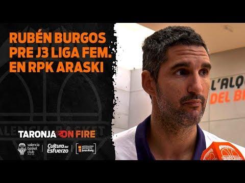 Rubén Burgos pre J3 Liga Femenina en RPK Araski