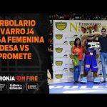 Herbolario Navarro en J4 LF Endesa vs Campus Promete