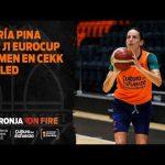 María Pina pre J1 Eurocup Women en CEKK Cegled