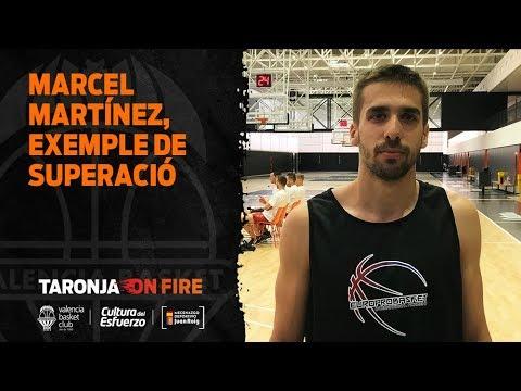 Marcel Martínez, ejemplo de superación en Europrobasket