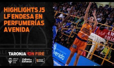 Highlights J5 Liga Femenina Endesa en Perfumerías Avenida