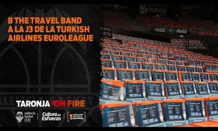 B the Travel Band a la J3 Turkish Airlines Euroleague
