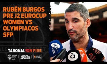 Rubén Burgos pre J2 Eurocup Women vs Olympiacos SFP