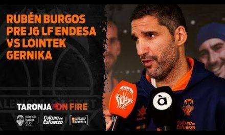 Rubén Burgos pre J6 Liga Femenina Endesa vs Lointek Gernika