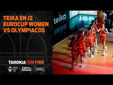Teika en J2 Eurocup Women vs Olympiacos