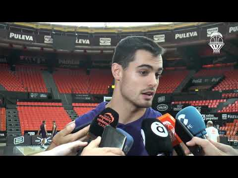 Alberto Abalde pre J1 Turkish Airlines Euroleague vs CSKA Moscow