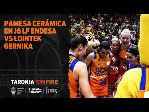 Pamesa Cerámica en J6 Liga Femenina Endesa vs Lointek Gernika