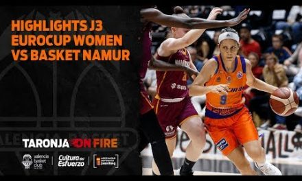 Highlights J3 Eurocup Women vs Basket Namur