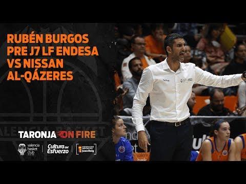 Rubén Burgos Pre J7 Liga Femenina Endesa vs Nissan Al Qázeres