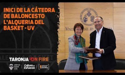 Arranca la Cátedra de baloncesto L'Alqueria del Basket – Universitat de València