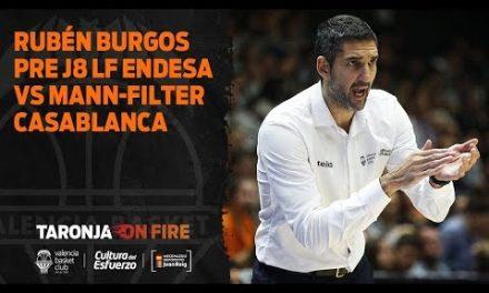 Rubén Burgos pre J8 Liga Femenina Endesa vs Mann-Filter Casablanca