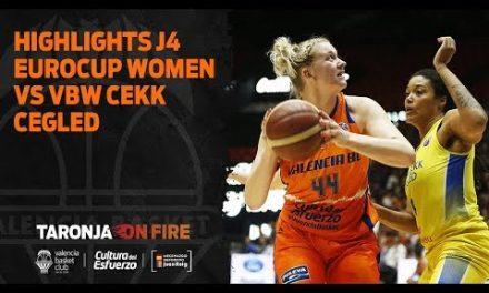Highlights J4 Eurocup Women vs VBW CEKK Cegled