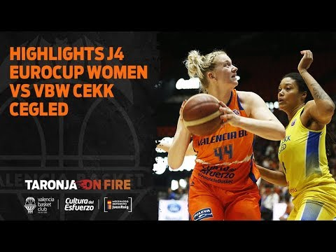 Highlights J4 Eurocup Women vs VBW CEKK Cegled