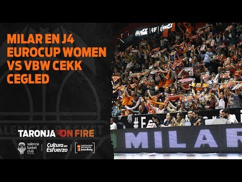 MILAR en J4 Eurocup Women vs VBW CEKK Cegled