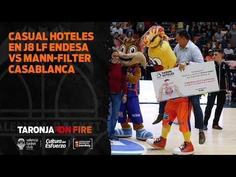 Casual Hoteles en J8 Liga Femenina Endesa vs Mann-Filter Casablanca