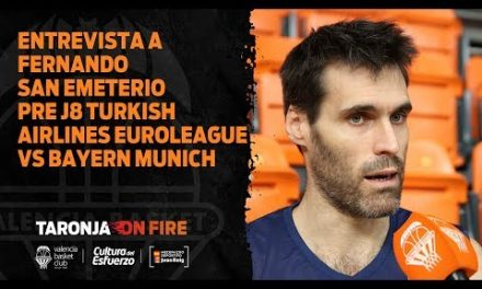19 11 12 Entrevista a Fernando San Emeterio pre J8 Turkish Airlines Euroleague