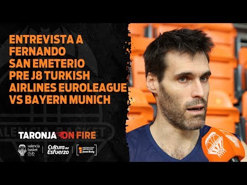 19 11 12 Entrevista a Fernando San Emeterio pre J8 Turkish Airlines Euroleague