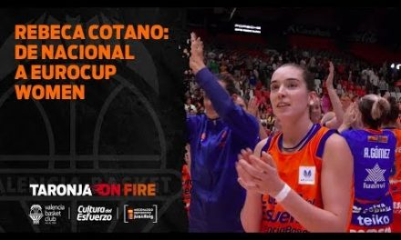 Rebeca Cotano: de Nacional a Eurocup Women