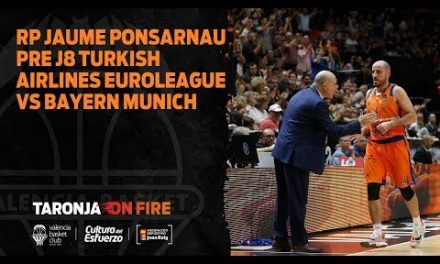 RP Jaume Ponsarnau pre J8 Turkish Airlines Euroleague vs Bayern Munich