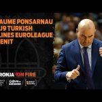 Jaume Ponsarnau pre J9 Turkish Airlines Euroleague vs Zenit San Petersburgo
