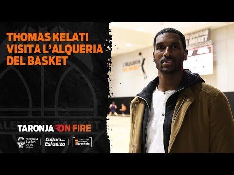Thomas Kelati visita L'Alqueria del Basket