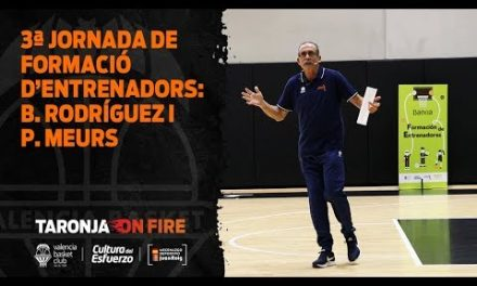 3ª jornada de formación de entrenadores con Bernardo Rodríguez y Pascal Meurs