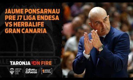 Jaume Ponsarnau pre J7 Liga Endesa vs Herbalife Gran Canaria