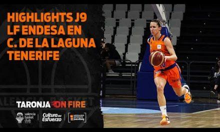 Highlights J9 Liga Femenina Endesa en Ciudad de la Laguna Tenerife