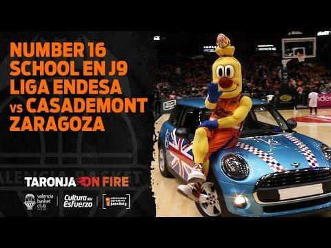 Number 16 School en J9 Liga Endesa vs Casademont Zaragoza