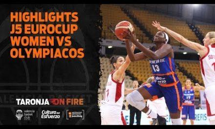 Highlights J5 Eurocup Women en Olympiacos