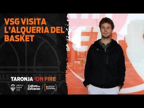 VSG visita L'Alqueria del Basket