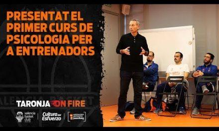 Primer curso de psicología para entrenadores de L'Alqueria del Basket