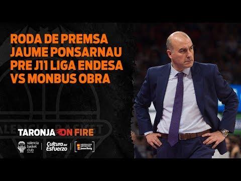 RP Ponsarnau pre J11 Liga Endesa vs Monbus Obradoiro