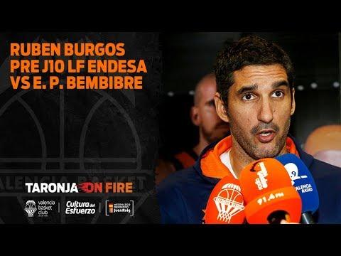 Rubén Burgos pre J10 LF Endesa vs Embutidos Pajariel Bembibre