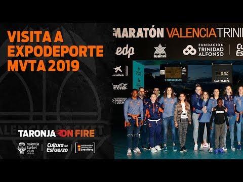 Visita a la feria de Expodeporte MVTA 2019