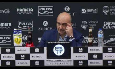 RP Jaume Ponsarnau post J11 Liga Endesa vs Monbus Obradoiro