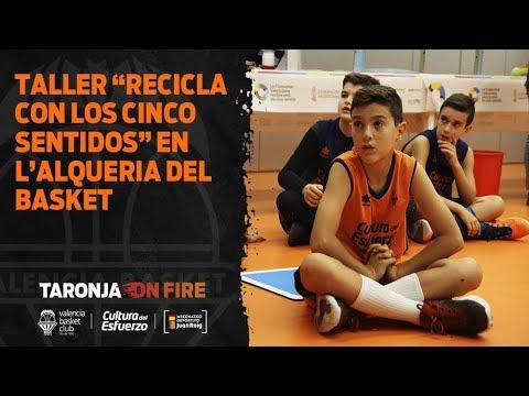 Taller «Recicla con los cinco sentidos» en L'Alqueria del Basket
