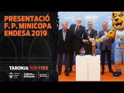 Presentación de la fase previa de la Minicopa Endesa 2019