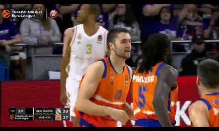 ¡Conexión Maurice Ndour para Mike Tobey! en Real Madrid J12 Turkish Airlines Euroleague
