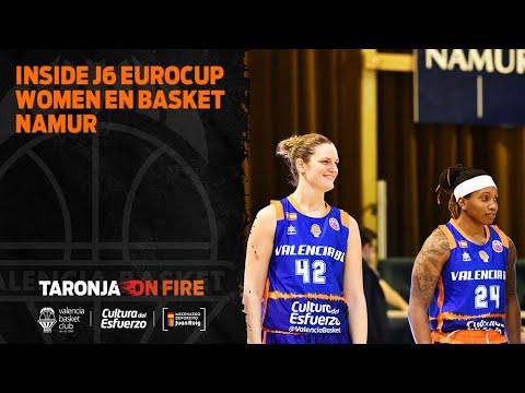 Inside J6 Eurocup Women en Basket Namur